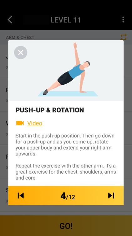 Home Workout for Men screenshot-3