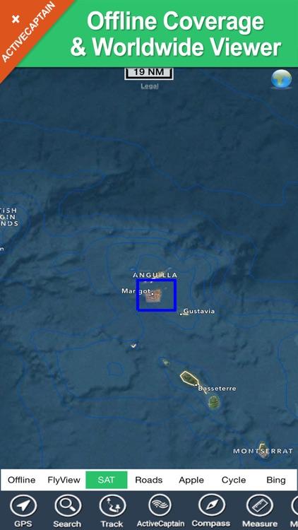 Saint Martin - GPS Map Navigator screenshot-4