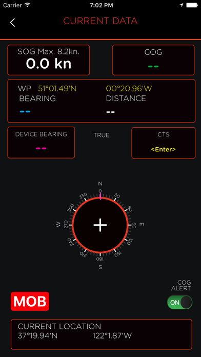 OLAS – Overboard Alert System screenshot two