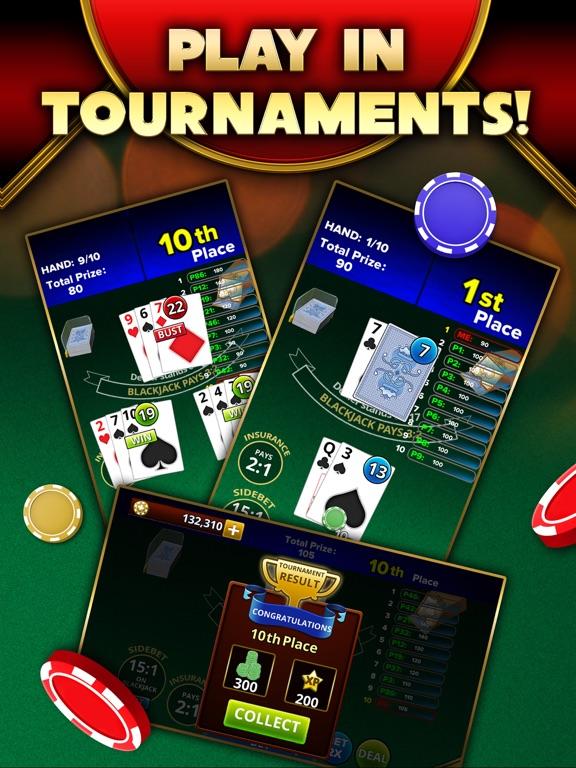 Blackjack 21 - Platinum Player screenshot 9