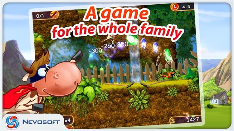 Supercow: funny farm arcade platformer screenshot-4