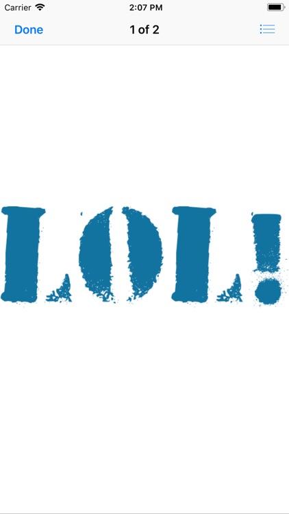 Joyful Laughter Stickers Lol! screenshot-3