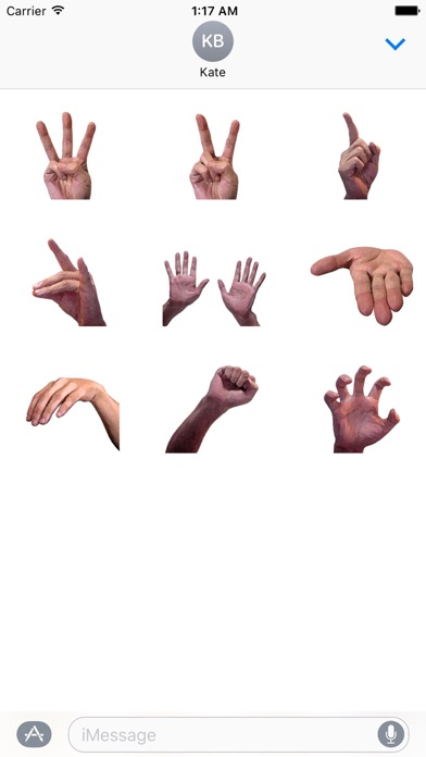 Animated Signs By Hand Sticker screenshot 2