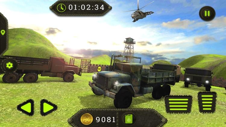 Military Truck Drive War Zone screenshot-4