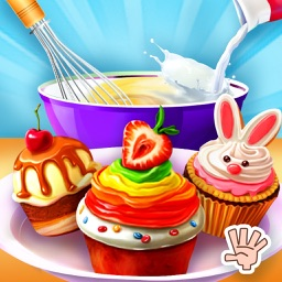 Cupcake Shop Kids cooking Game