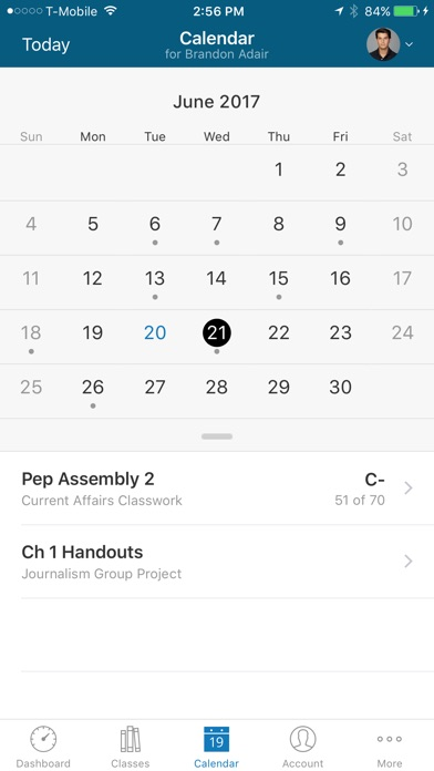 Screenshot for PowerSchool Mobile in United States App Store