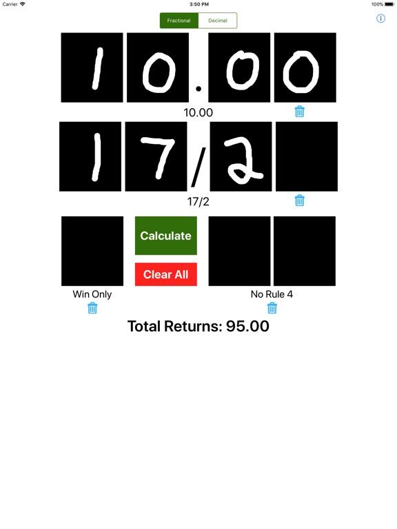 iPad Image of Fast Bet Settler