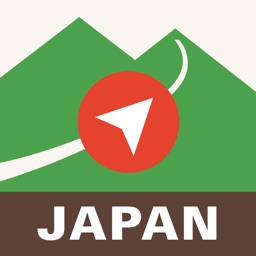 Japan Alps Hiking Map