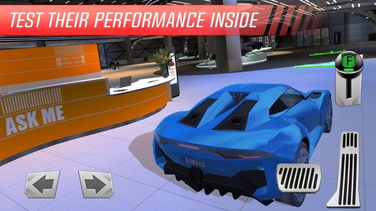 Luxury Car: Showroom Driver