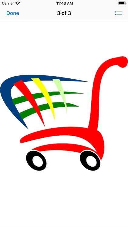 Shopping Cart Stickers screenshot-5