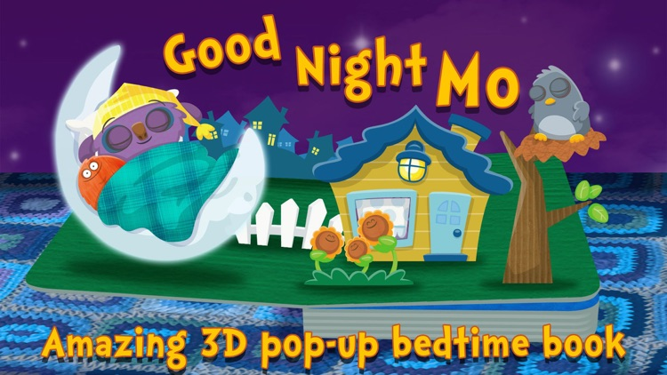 Goodnight Mo ~ 3D Interactive Pop-Up Book screenshot-0