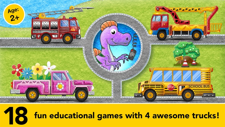 Learning Cars Educational Games for Preschool Kids screenshot-0