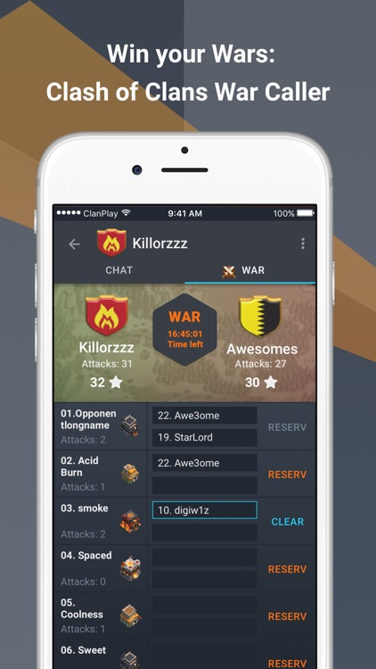 ClanPlay: Chat for Gamers screenshot-4