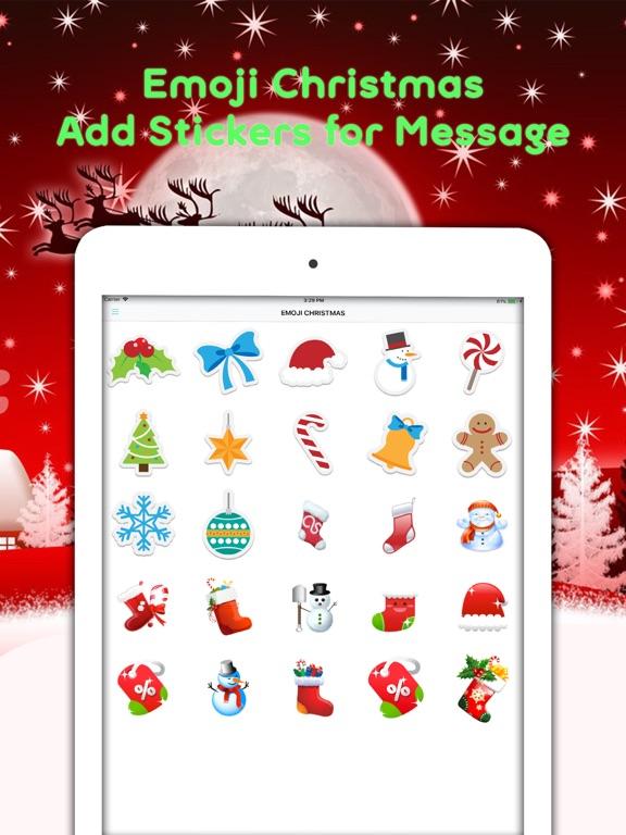 Christmas Emojis & Animated   App Price