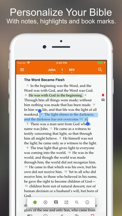 Bible +1 screenshot one