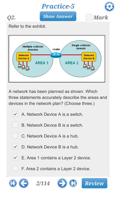 Cisco CCNA 210-260 Exam screenshot three