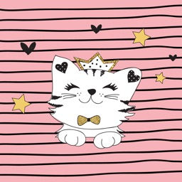 Purrrfect Pusheen Cat SMS App