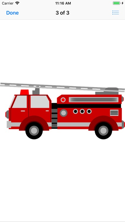 Fire Truck Stickers screenshot-3