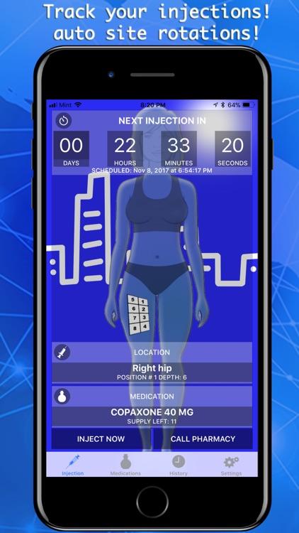Injection Tracker & Scheduler screenshot-0
