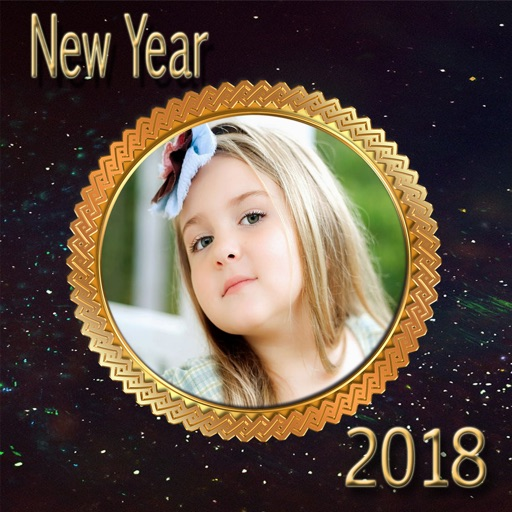 Happy New Year Frames 2018