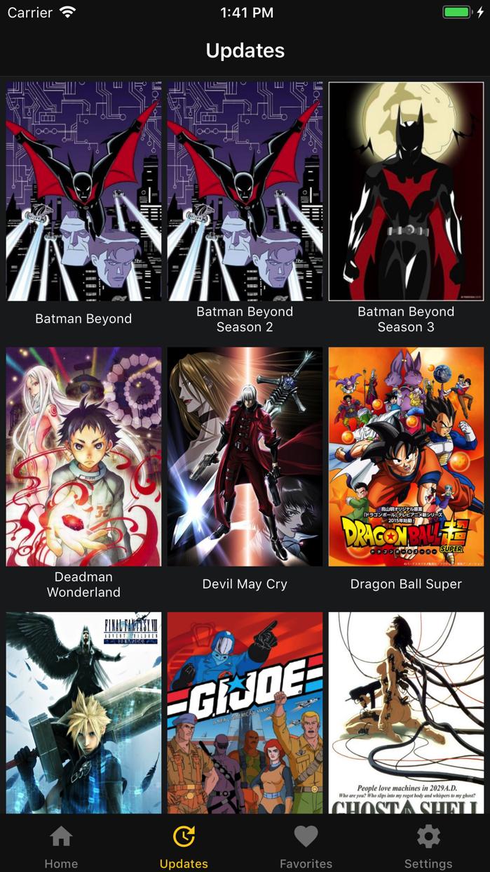 KissAnime -Social Anime Movies Screenshot