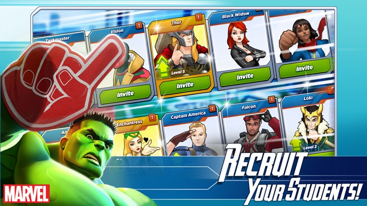 MARVEL Avengers Academy screenshot-3