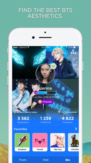 BTS Aesthetics Amino on the App Store