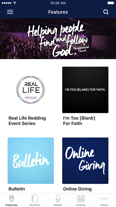 Neighborhood Church of Redding screenshot 1