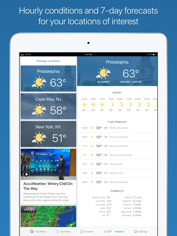 6ABC Philadelphia iPad