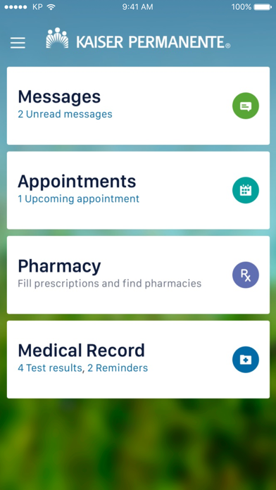 Kaiser Permanente app image