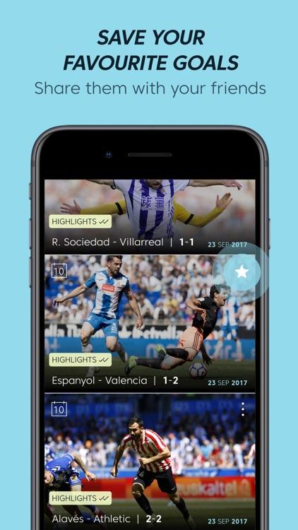 La Liga TV - The football TV screenshot-3