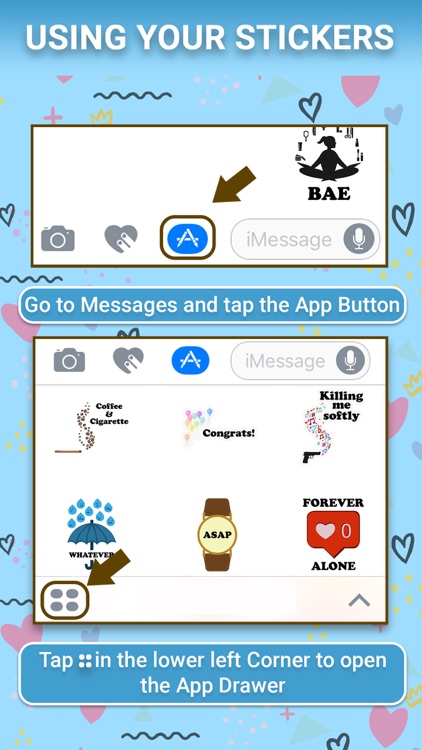 Messanger Animated Stickers