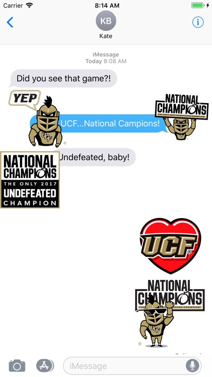UCF® Stickers screenshot-5