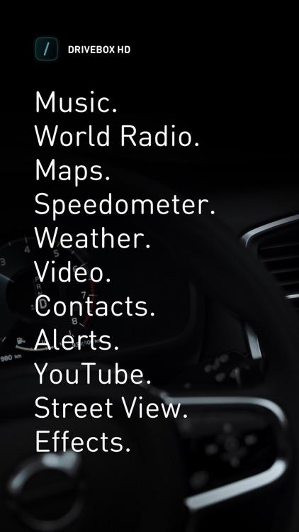 Drive Box HD - Car Stereo App screenshot-4