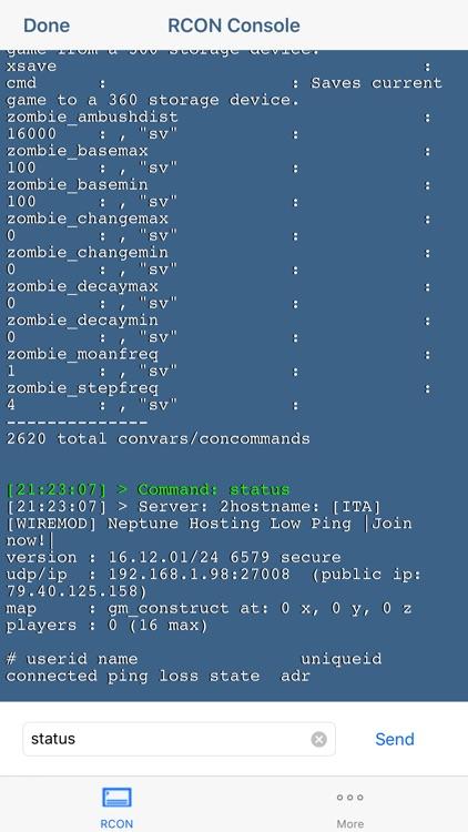 RCON Game Server Admin Manager by GENOVA Softworks
