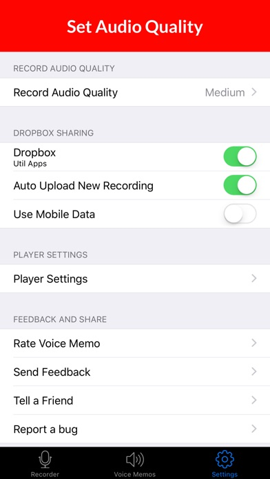 Voice Recorder & Audio Memos Preview 4