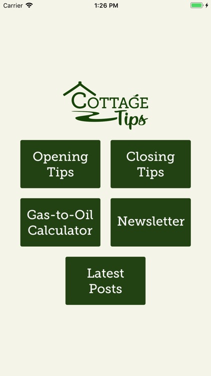CottageTips