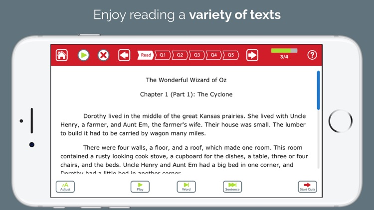 Advanced Reading Therapy screenshot-4