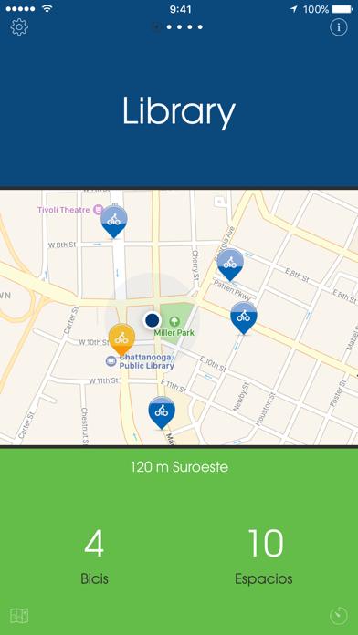 Bicis Chattanooga — Un App Bike Share de Un ClickCaptura de pantalla de3