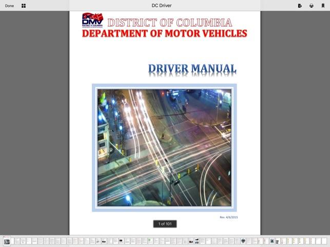 dc dmv drivers manual pdf