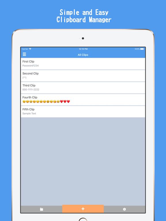 Screenshot #4 pour QuickClip | Clipboard Manager