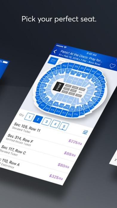Ticketmaster review screenshots