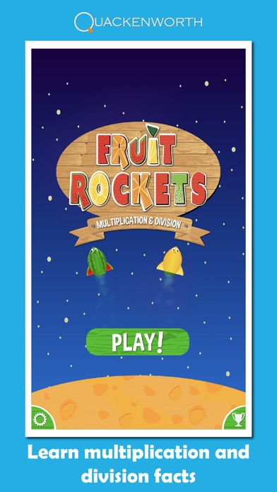 Fruit Rockets Multiplication Screenshot 3