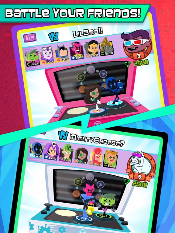 Teen Titans GO Figure! tablet App screenshot 3