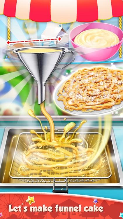 Carnival Fair Food