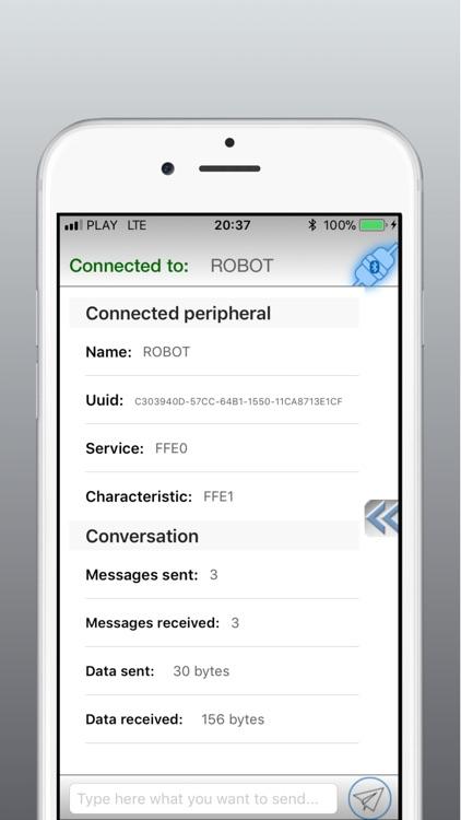 BTCommander - Serial port HM10 screenshot-3