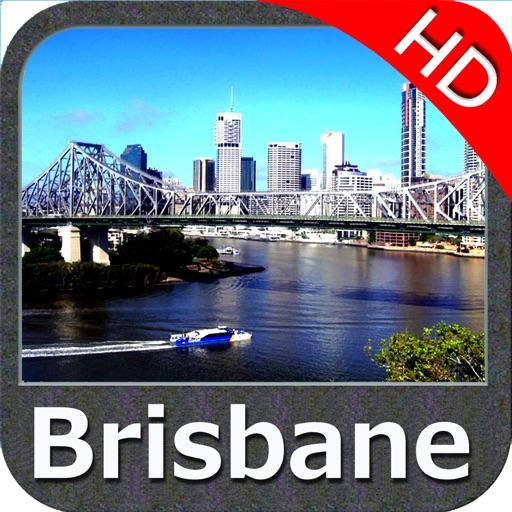 Brisbane Nautical Chart HD GPS