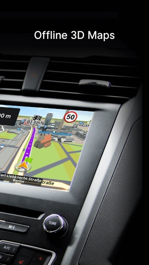 Car Navigation: Maps & GPS Screenshot