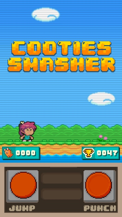 Cooties Smasher - 8-bit arcade