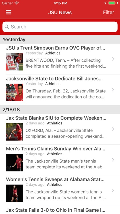 MyJSU Mobile screenshot-3